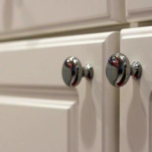 Кухненски шкаф за стена -  ъглов