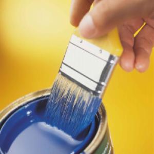 Боядисване на парапети, первази, винкели, тръби и др.