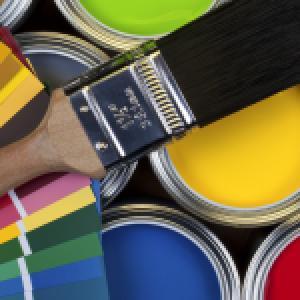 Боядисване с обикновен латекс до 4 цвята в помещение