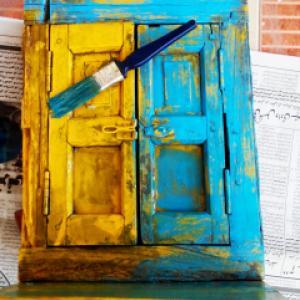 Боядисване с латекс страни прозорци